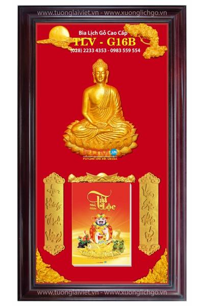 Lịch Gỗ Cao Cấp - Phật Thích Ca