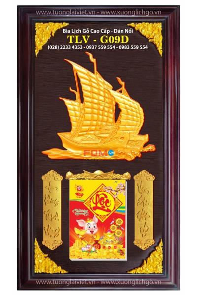 Lịch Gỗ Cao Cấp - Thuận Buồm Xuôi Gió